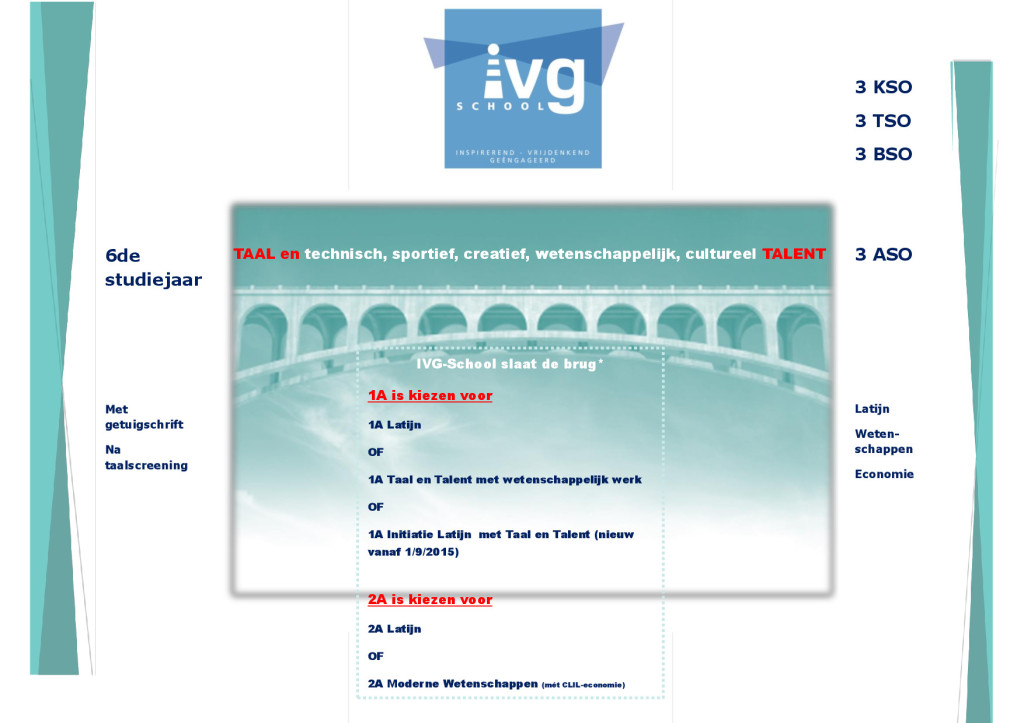 IVG-School slaat de brug