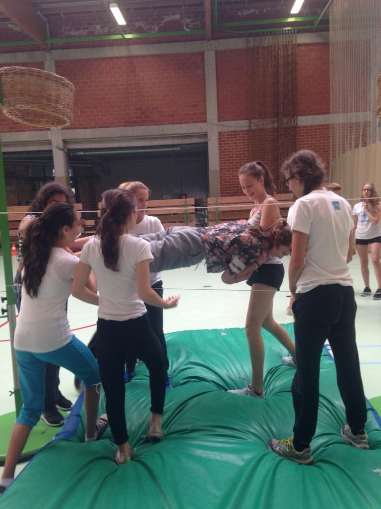 Groepsdynamica kweken tijdens de workshop sport